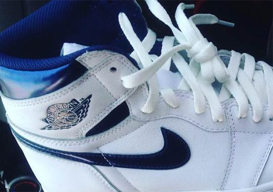 "Jordan Brand To Release The Air Jordan 1 Retro High OG ""Metallic Navy"" In June"