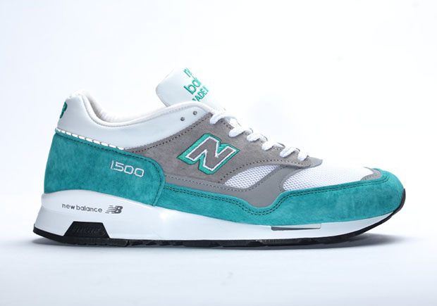 new balance 1500 white green
