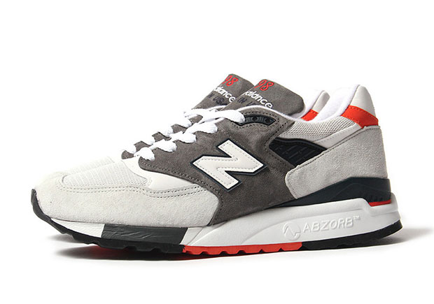 new balance 998 gray zr2g  The New Balace 998 always benefits from the use of premium suede and  leather New Balance has always kept the retro running offering in check  with tonal