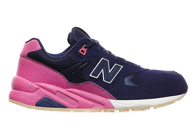 Usually sticking with more neutral or traditional color palettes on their  retro runners, New Balance goes for a more unique look on this latest  eye-catching ...