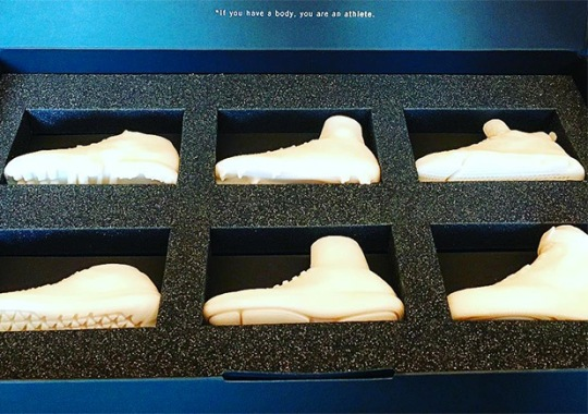 A Preview Of Upcoming Nike Models In Miniature Form