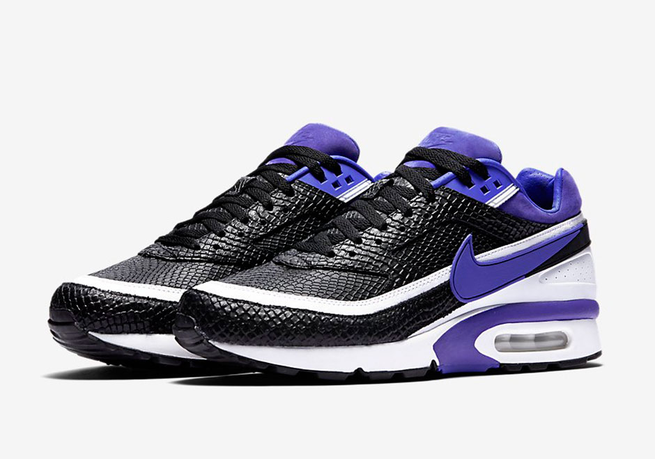 nike gives the air classic bw the snakeskin treatment. Black Bedroom Furniture Sets. Home Design Ideas