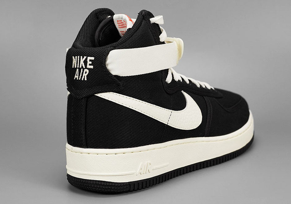 new concept 0be0f 3d9d4 Nike Air Force 1 High Canvas