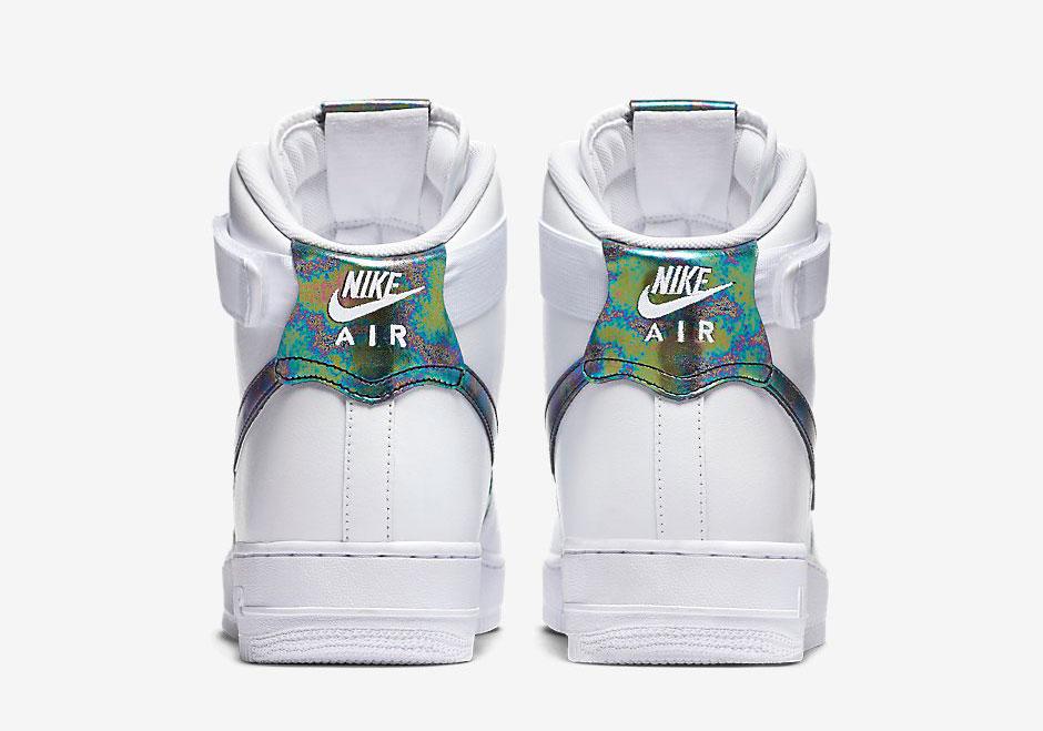 "cfb5a5af1928a9 Nike Air Force 1 Hi LV8 ""Iridescent"" - SneakerNews.com"
