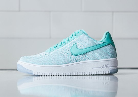 Nike Releases The Air Force 1 Flyknit In Emerald Green