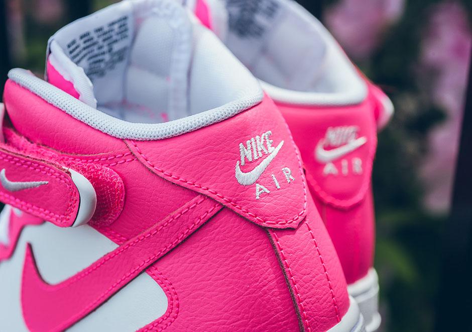 nike air force 1 gs hyper pink
