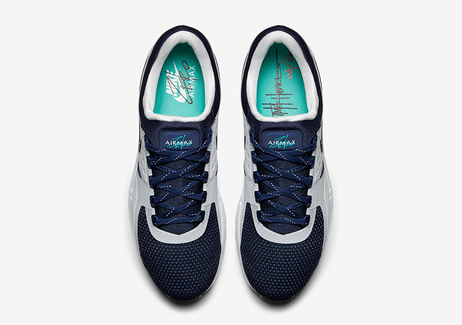 factory authentic 98ca2 0b748 Nike Air Max Zero OG. Color  White Rift Blue-Hyper Jade-Midnight Navy Style  Code  789695-104. Release Date  March 26, 2016. Price   150. Advertisement