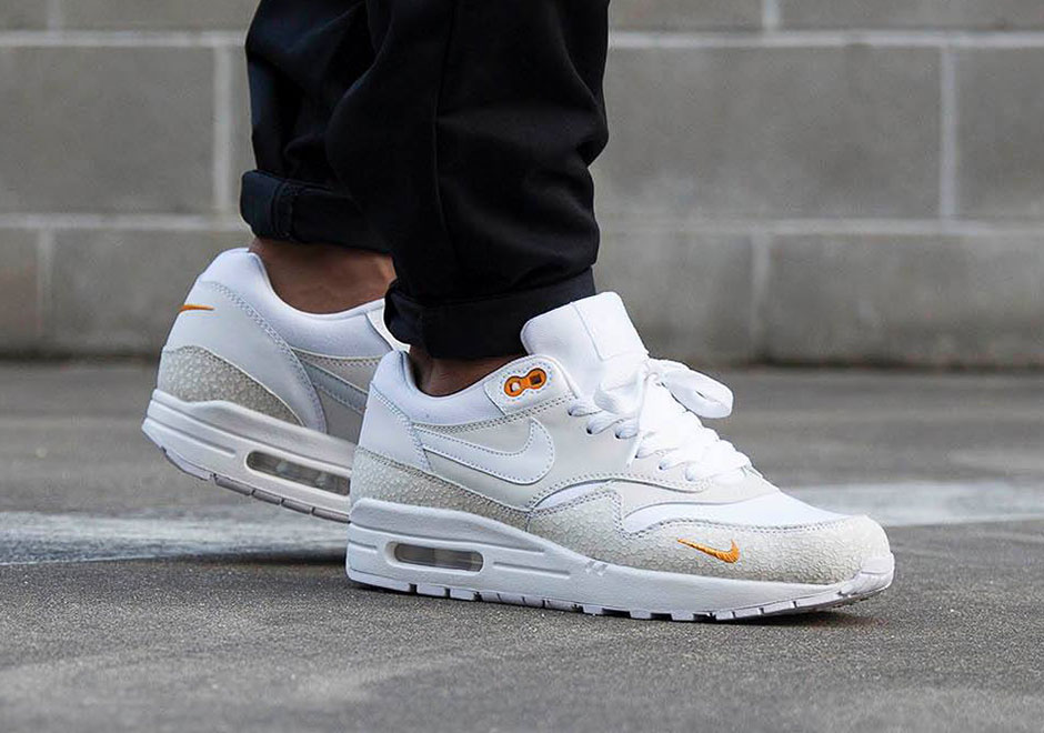 ... these Nike Air Max 1 colorways should be available later this Spring 2016 season. Check out more photos below purchase the white pair and black pair ...