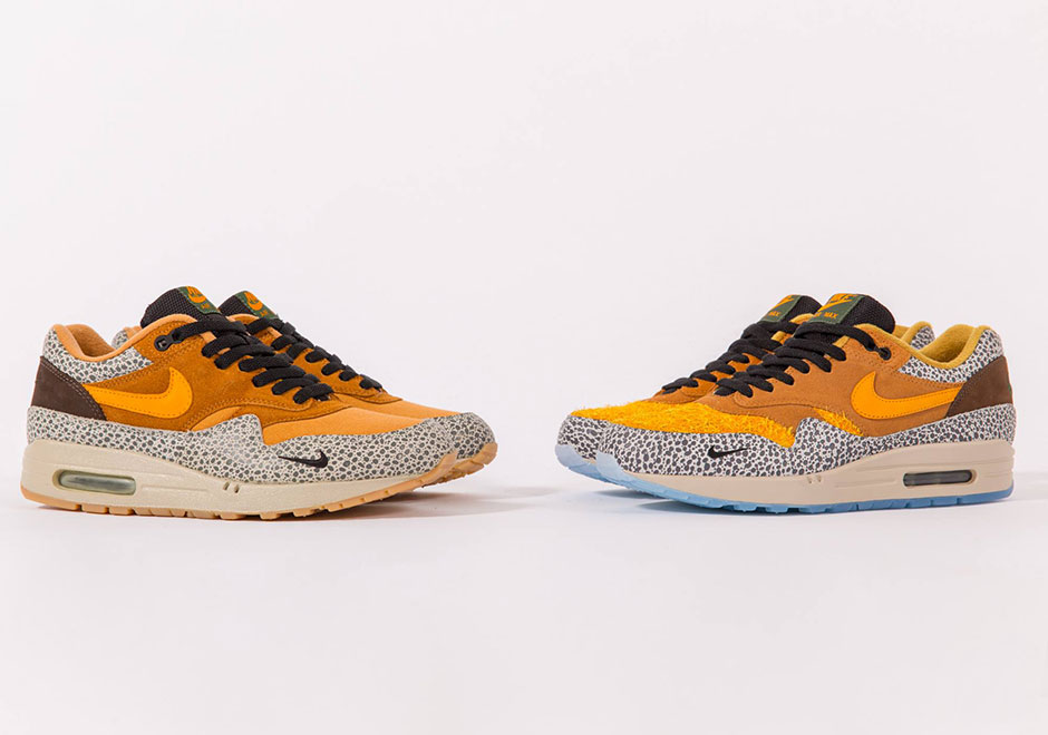 Atmos X Nike Air Max 1 Safari Retrò 11 YeLzl1mQa3