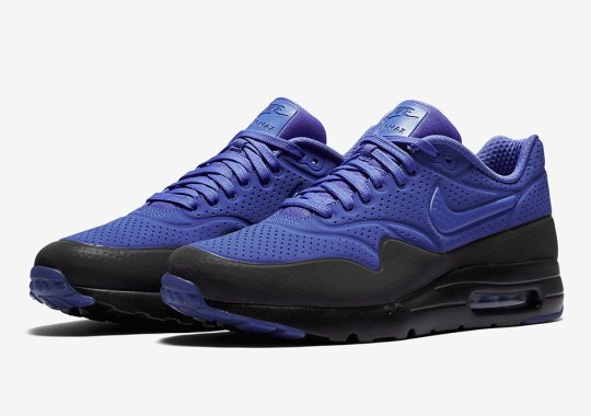 """Persian Violet"" Hits The Nike Air Max 1 Ultra Moire"