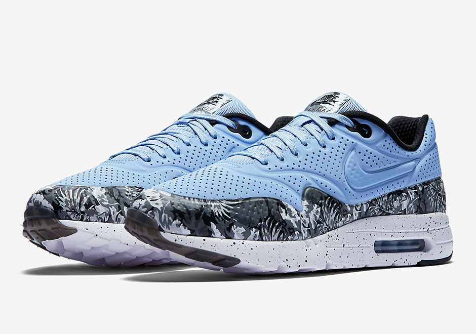 newest 506d2 5abd8 Tropical Prints Arrive On The Nike Air Max 1 Ultra Moire