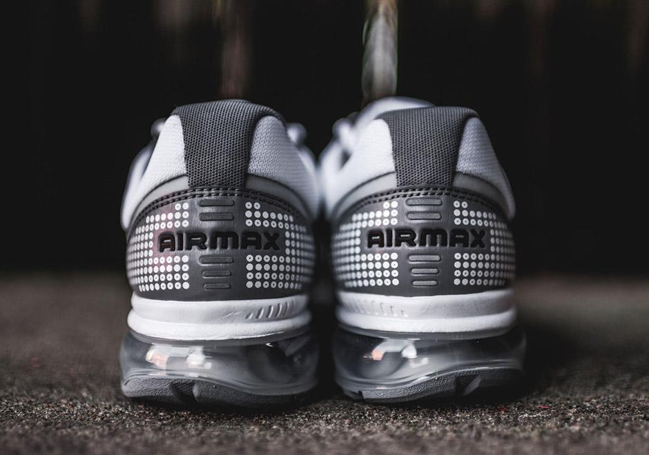 Nike Air Max 2009 Blanco Sigilo Nike De Las Mujeres Negro sA1XvX