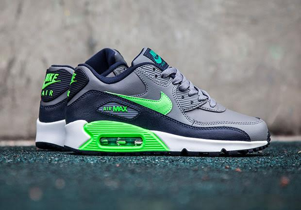 "Nike Air Max 90 ""Seahawks"" For Kids - SneakerNews.com"