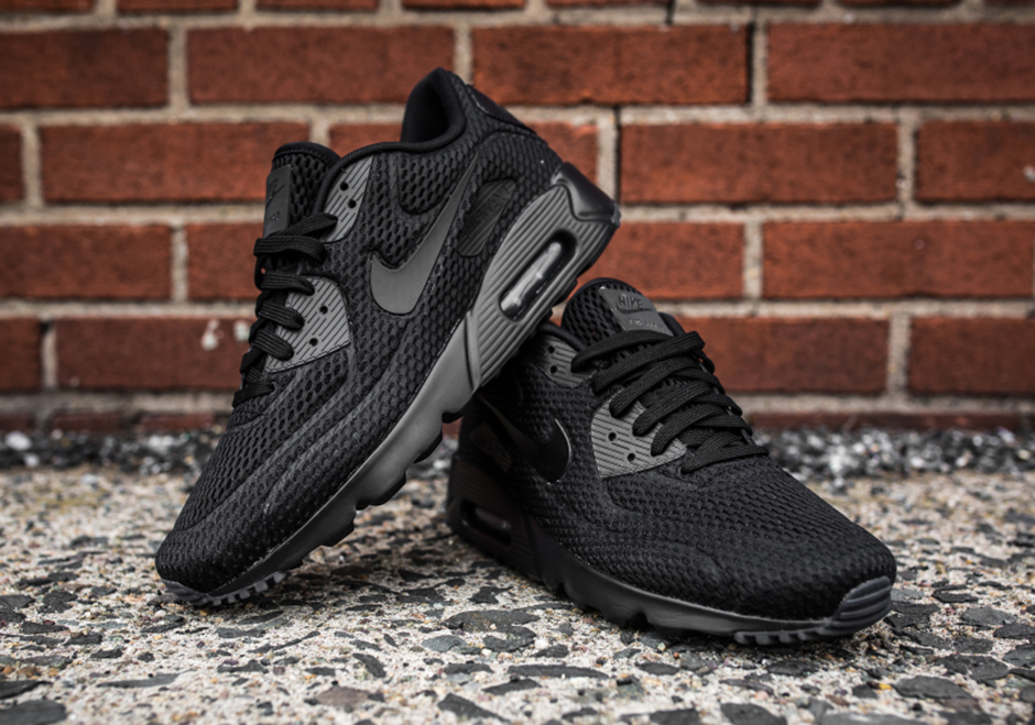 all black air max 90s