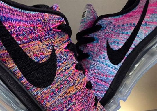 Nike Continues With The Multi-Color Theme With The Flyknit Air Max