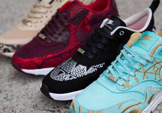 """Another Look At The Upcoming Nike Air Max """"Look Of The City"""" Collection"""