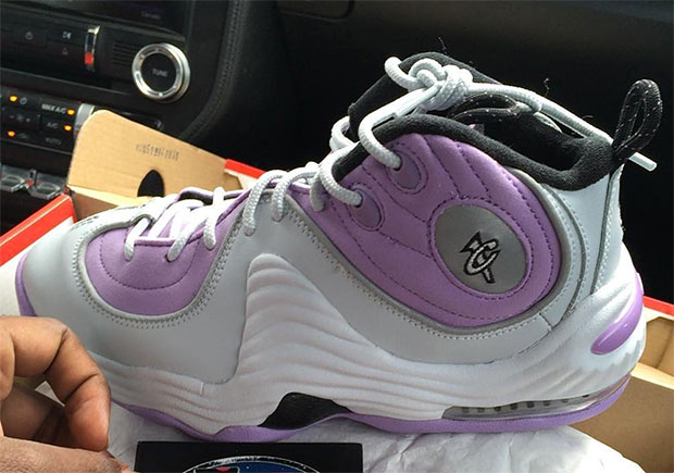 """The return of the Nike Air Penny 2 in 2016 will include something special  just for the ladies and young ones, with this """"Lilac"""" edition exclusively  in grade ..."""