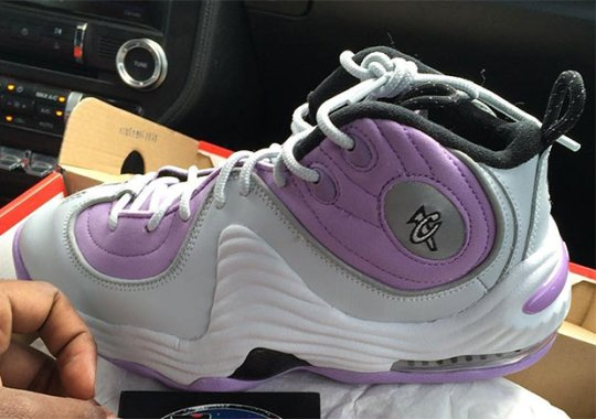 The Nike Air Penny 2 Is Releasing In Lilac Purple