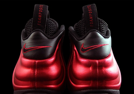 """Nike Air Foamposite Pro """"University Red"""" Releases In April"""