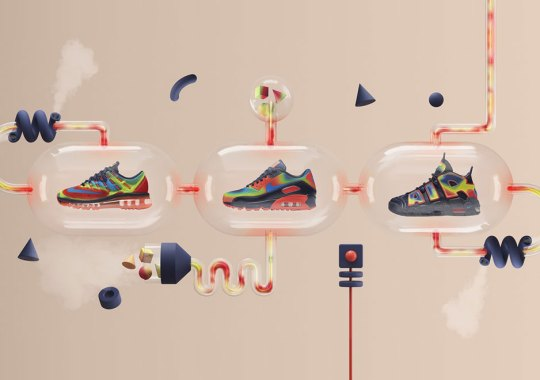 Nike Presents The Heat Map Pack Featuring Air More Uptempo, Air Max 90, And Air Max 2016