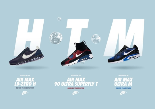 Nike To Release Air Max Models Designed By Hiroshi, Tinker, and Mark Parker