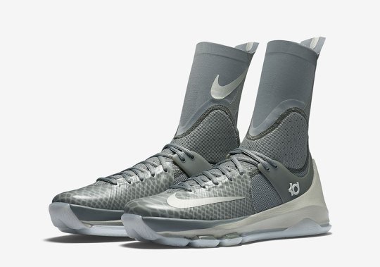 "A Detailed Look At The Nike KD 8 Elite ""Grey"""