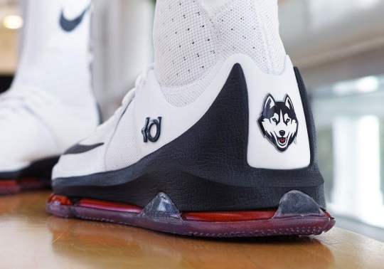 The UConn Huskies Women's Basketball Team To Debut A Nike KD 8 Elite PE