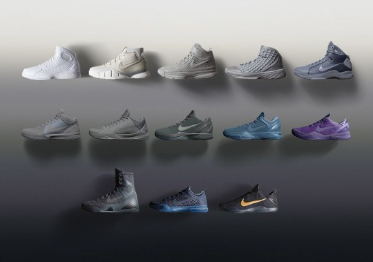 "Nike Bids Farewell To Kobe Bryant With ""Black Mamba"" Collection"