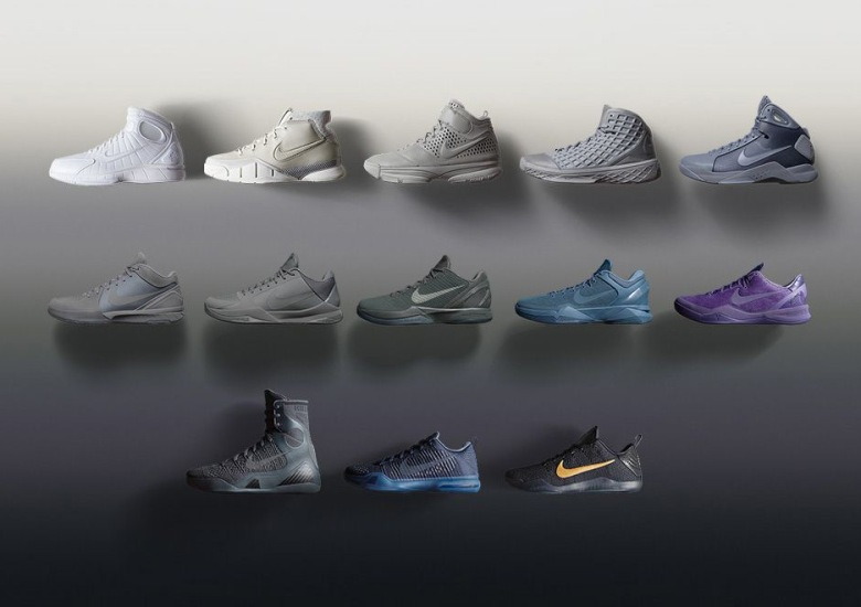 """size 40 a2724 28b27 Nike Bids Farewell To Kobe Bryant With """"Black Mamba"""" Collection"""