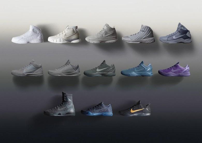 "size 40 aa3c1 330ae Nike Bids Farewell To Kobe Bryant With ""Black Mamba"" Collection"