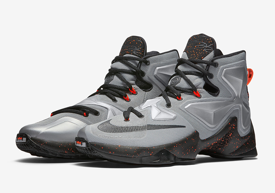 a753c84806804 Nike LeBron 13. Color  Metallic Silver Energy-Hyper Jade-Black Style Code   807219-003