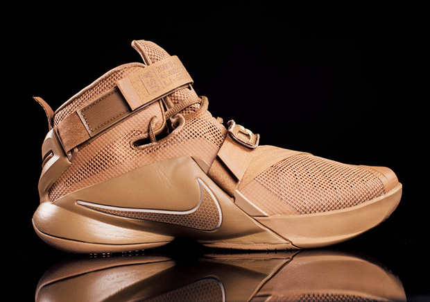 "b28b6a0652a3 The Nike LeBron Soldier 9 Is Ready For Battle With ""Desert Storm"" Colorway"