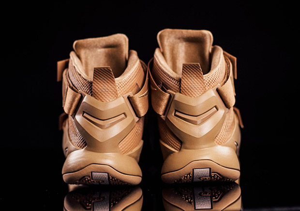 Nike LeBron Soldier IX PRM. Color: Desert Camo/String Style Code:  749490-222. Price: $140