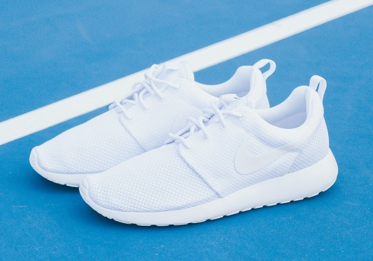 "The Nike Roshe ""Triple White"" Is Back In Stores"