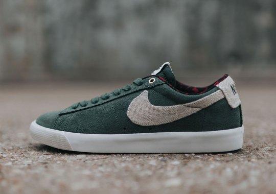 """Nike SB Blazer Low GT """"Gorge Green"""""""