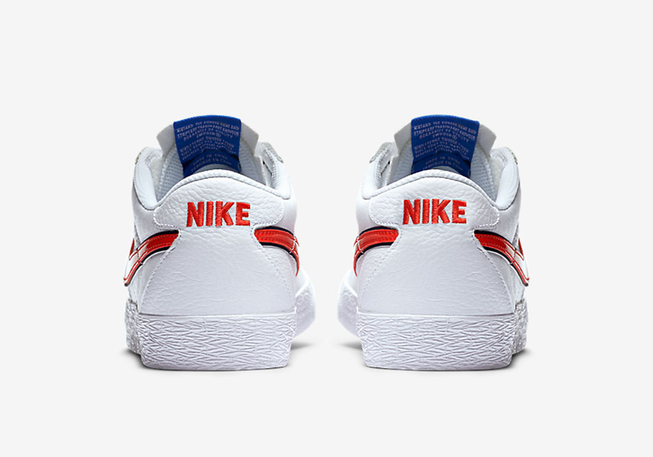 784032aaf9bd98 Nike SB Bruin Premium SE. Color  White Blue Spark University Red Style  Code  716814-164. Price   90. show comments