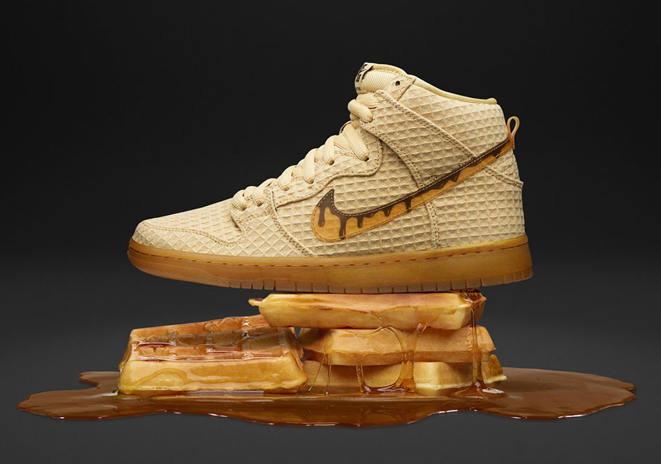 Nike SB Dunk High quot Chicken And Wafflesquot