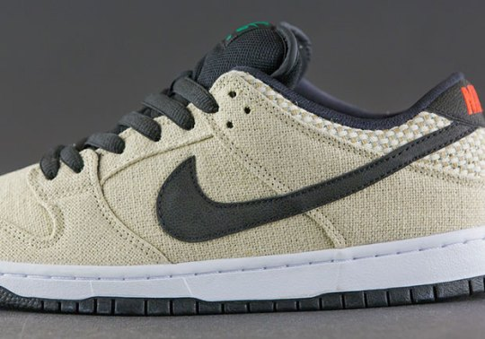 """Is This Nike SB Dunk Low """"Hemp"""" A 4/20 Release?"""