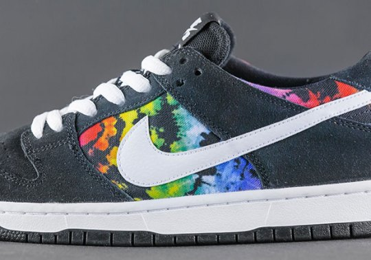 Ishod Wair's Next Nike SB Dunk Low Features Tie-Dye Prints