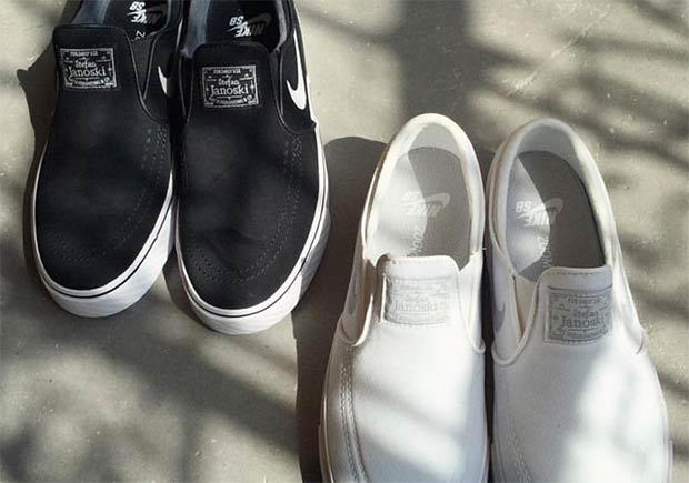 Sumergir bulto brandy  Nike SB Stefan Janoski Slip-On - SneakerNews.com