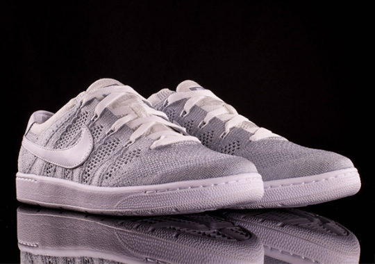 Nike's Flyknit Upper Lands On An Unexpected Retro Shoe