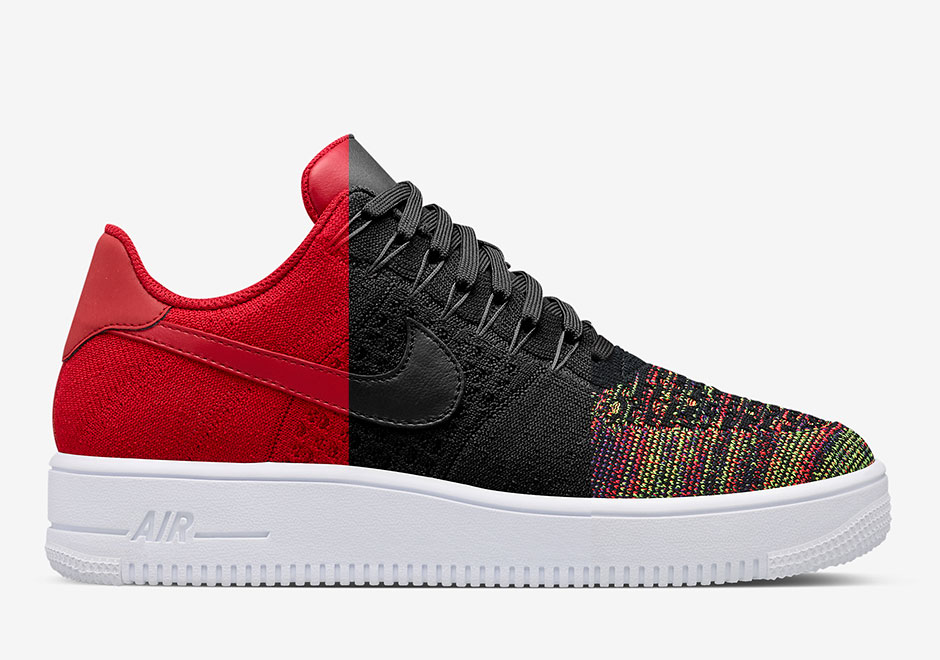 nikelab releases three new air force 1 low flyknit. Black Bedroom Furniture Sets. Home Design Ideas