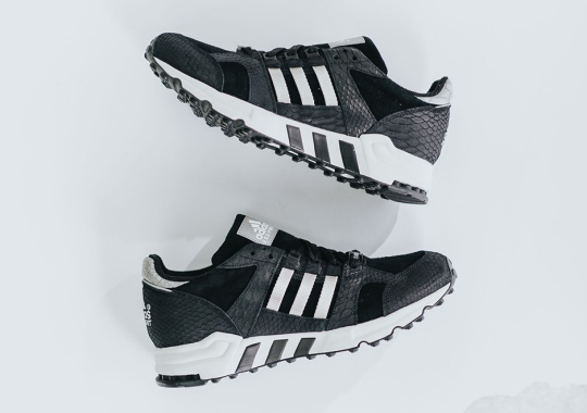 Python Skin Takeover On The adidas EQT Running Cushion