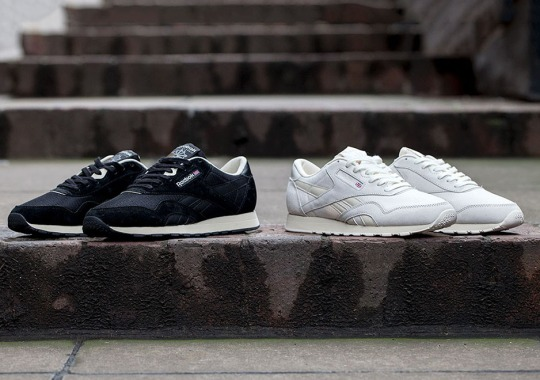 Reebok Classic Nylons Are Back In Two Simple Colorways