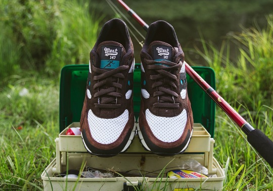 "WEST NYC Reels In The Saucony Shadow 6000 ""Fresh Water"""