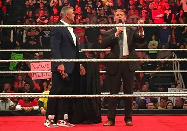 Shane McMahon Gets Seeded Free Jordans