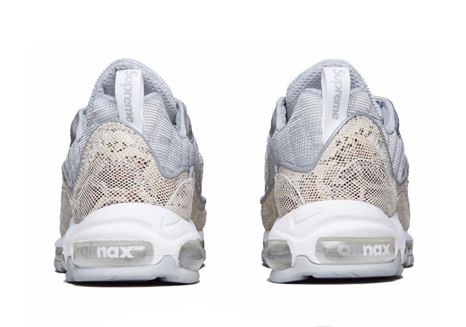 Supreme X Nike Air Max 98 Sail 844694 100 Sneakernews Com