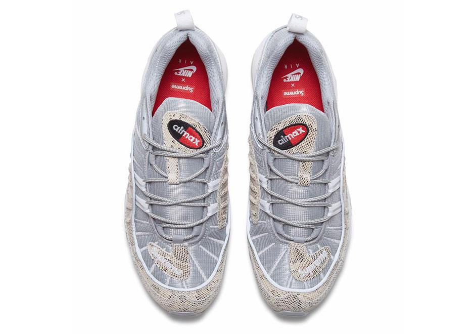 Supreme x Nike Air Max 98 Sail 844694 100 |