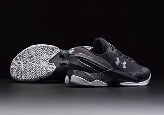 "UA Curry 2 Low ""Essential"". Color  Black Silver-White Release Date  March  5th 64f48976f99e"