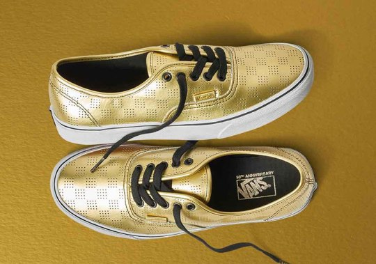 Vans Celebrates 50th Anniversary With Gold Collection